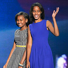 Barack Obama Photo 5 - Malia and Sasha Obama - Celebrity Fun Facts