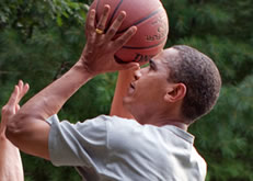 Barack Obama Photo 8 - Basketball - Celebrity Fun Facts