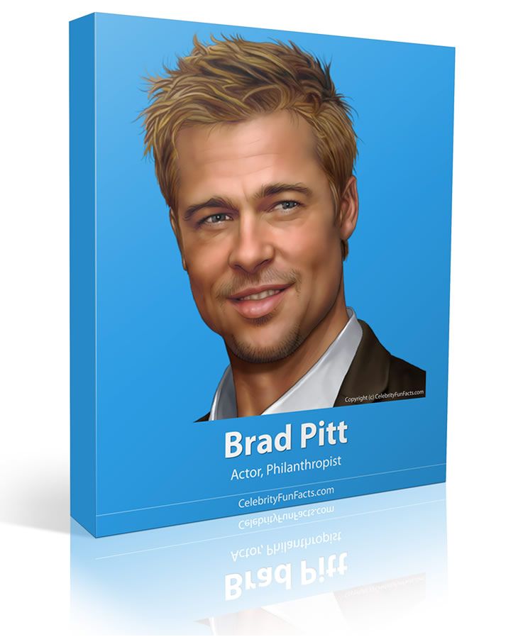 Brad Pitt - Celebrity Fun Facts
