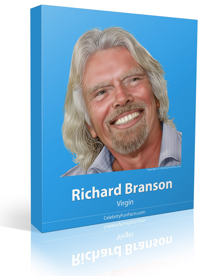 Richard Branson - Large - Celebrity Fun Facts