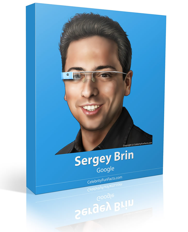 Sergey Brin - Large - Celebrity Fun Facts