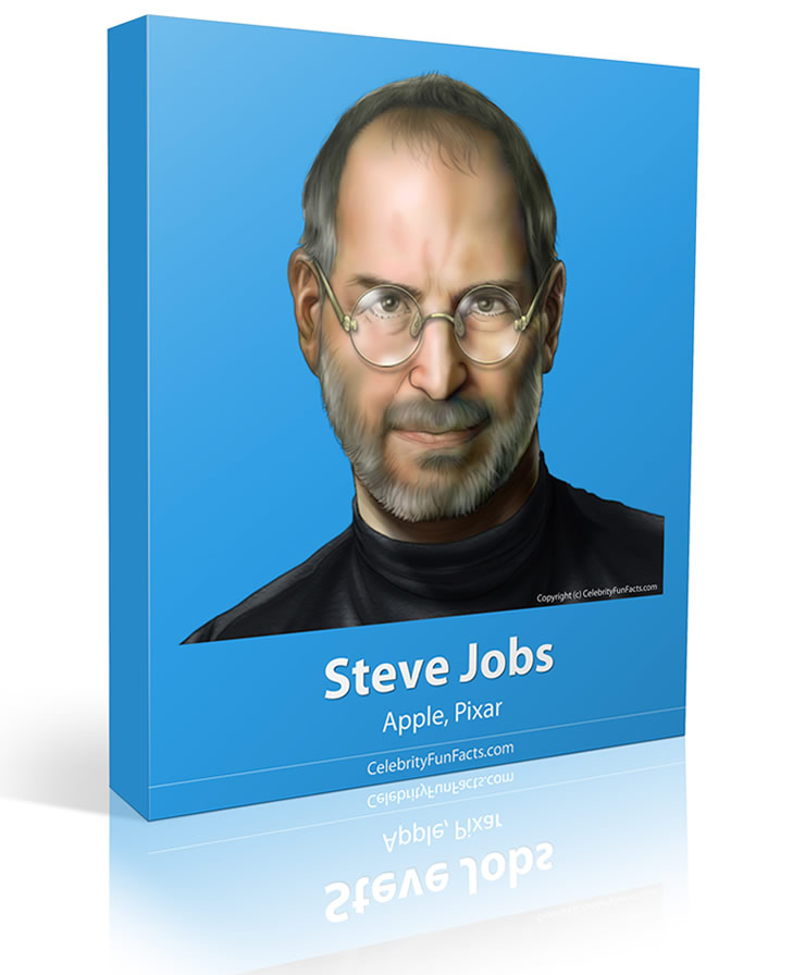 Steve Jobs - Large - Celebrity Fun Facts