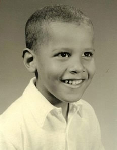 Barack Obama Photo 1 - Celebrity Fun Facts - Child