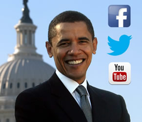 Barack Obama Photo 6 - Social Media Facebook Twitter YouTube - Celebrity Fun Facts