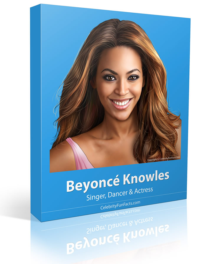 Beyonce - Large - Celebrity Fun Facts