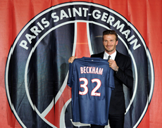 David Beckham Photo 2 - Paris St Germain - Celebrity Fun Facts