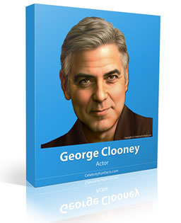 George Clooney - Small - Celebrity Fun Facts