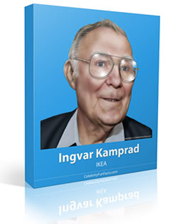 Ingvar Kamprad - Small - Celebrity Fun Facts
