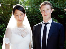 Mark Zuckerberg Photo 8 Priscilla Chan Marriage - Celebrity Fun Facts