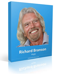 Richard Branson - Small - Celebrity Fun Facts