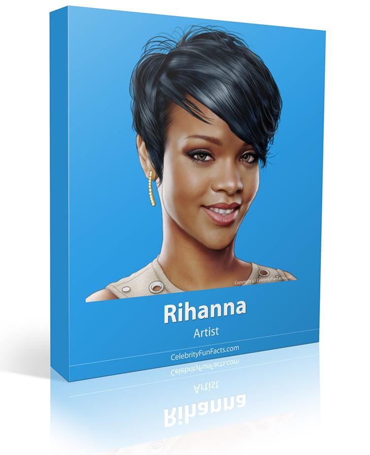 Rihanna - Large - Celebrity Fun Facts