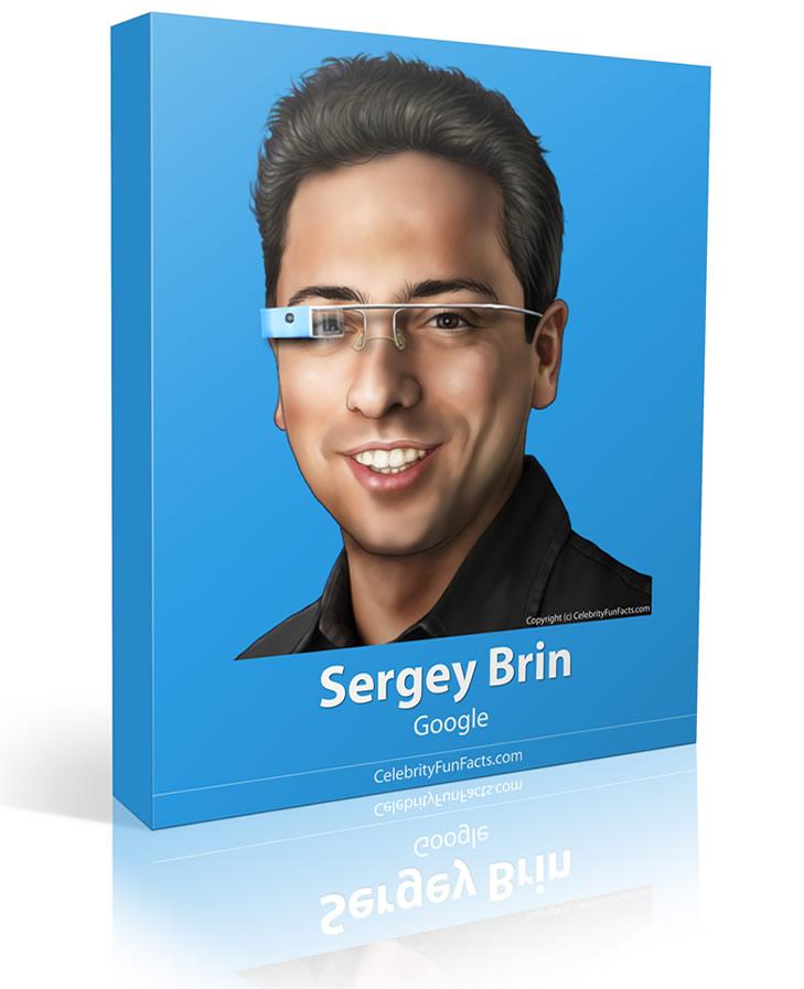 Sergey Brin - Large - Celebrity Fun Facts