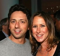 Sergey Brin Photo 3 - Anne Wojcicki - Celebrity Fun Facts